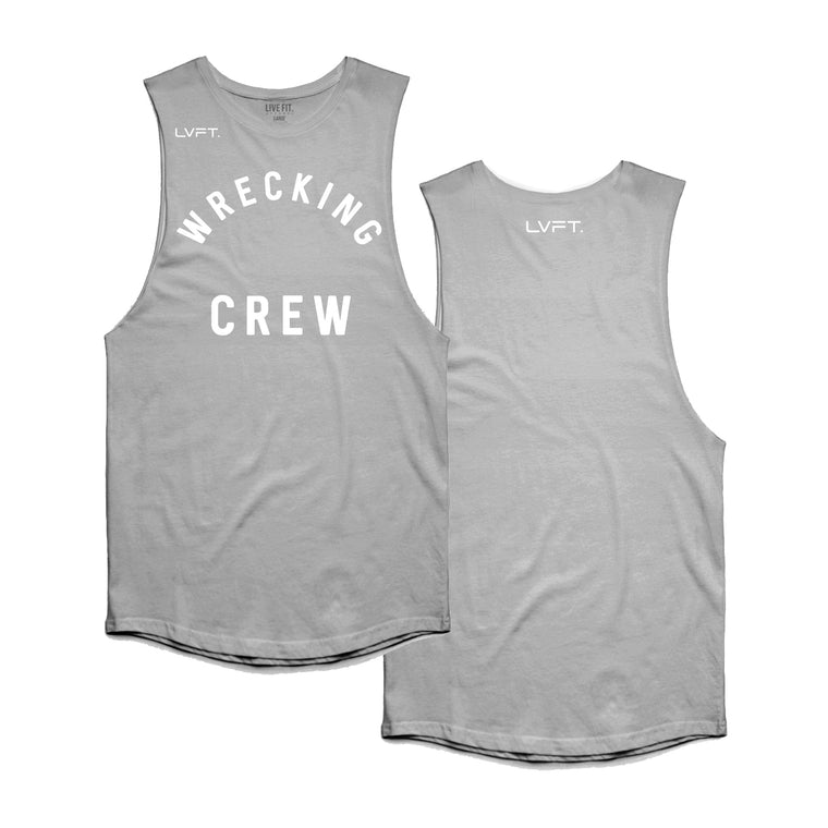Wrecking Crew Tank - Heather Grey