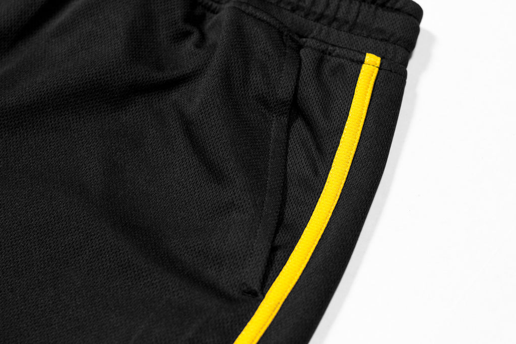 All Star Active Shorts - Black/Gold
