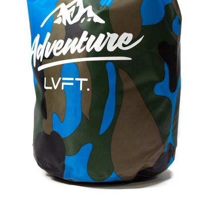 Live Fit Apparel LVFT Dry Bag - Blue/Camo - LVFT
