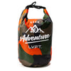 Live Fit Apparel LVFT Dry Bag - Orange/Camo - LVFT
