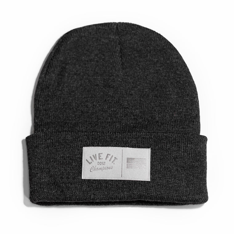 Champions Beanie - Charcoal
