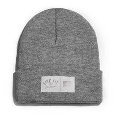 Champions Beanie - Heather Grey
