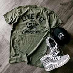 Athletic Goods Tee - Military Green