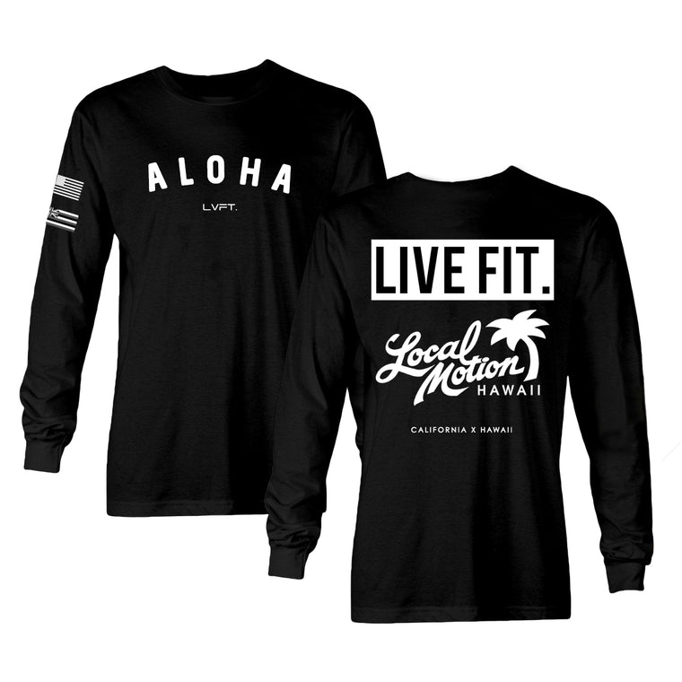 Aloha Long Sleeve - Black