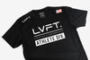 Live Fit Apparel Athlete Division Tee - Black - LVFT