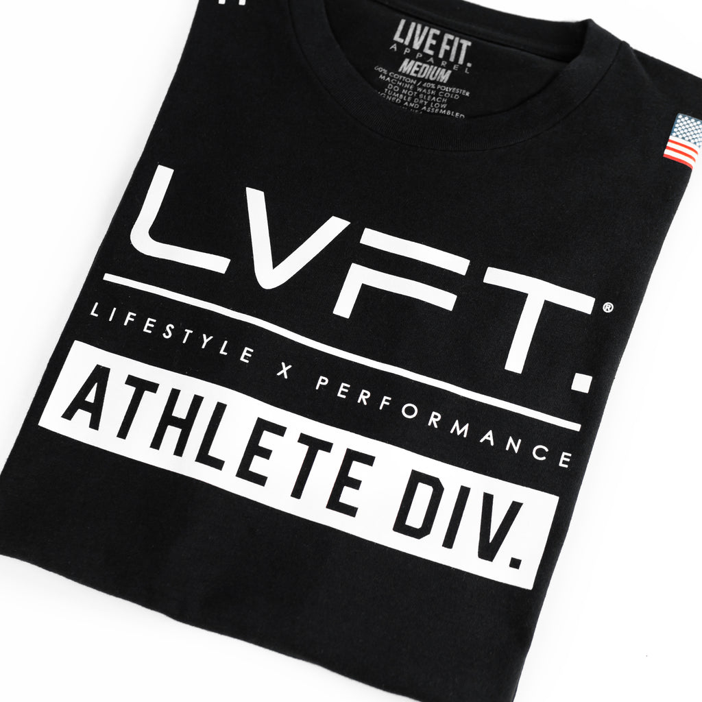Athlete Division Tee - Black