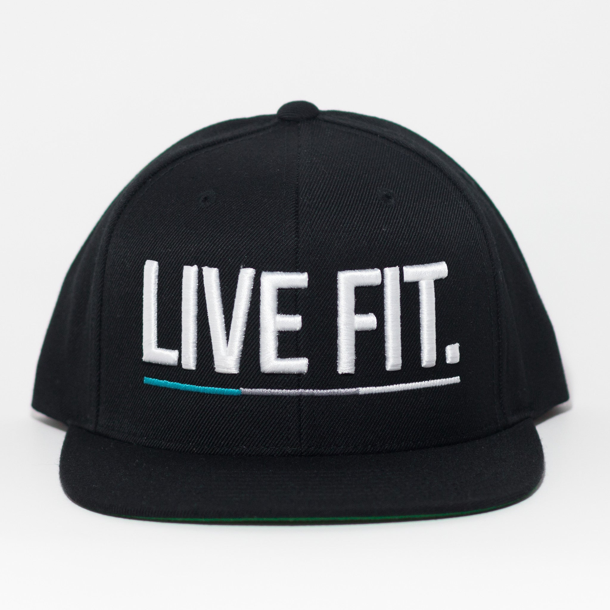 United Snapback - Black/Teal