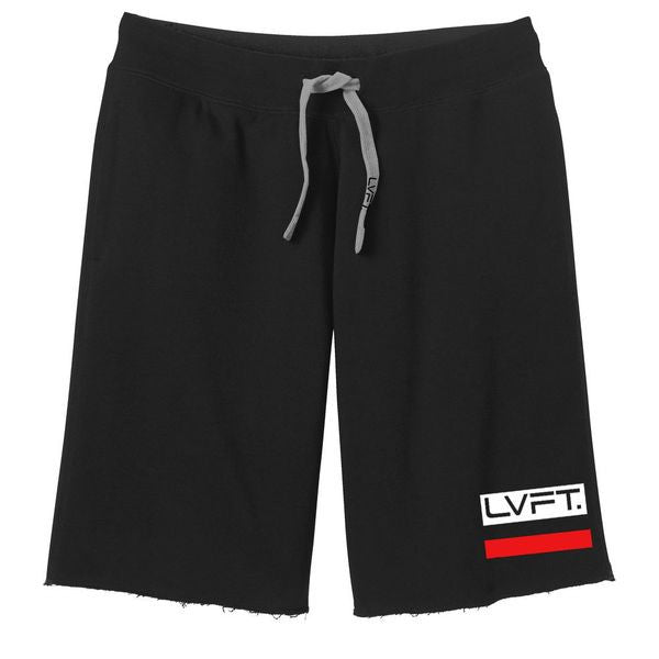 Sweat Shorts - Black/Red
