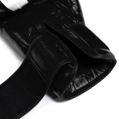 Thai Boxing Gloves- LVFT Stripe- Black
