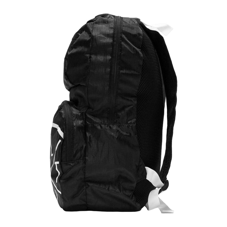 LVFT. Packable Backpack - Black/White