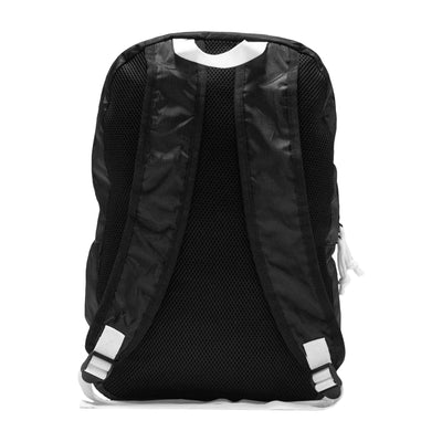 Live Fit Apparel LVFT. Packable Backpack - Black/White - LVFT