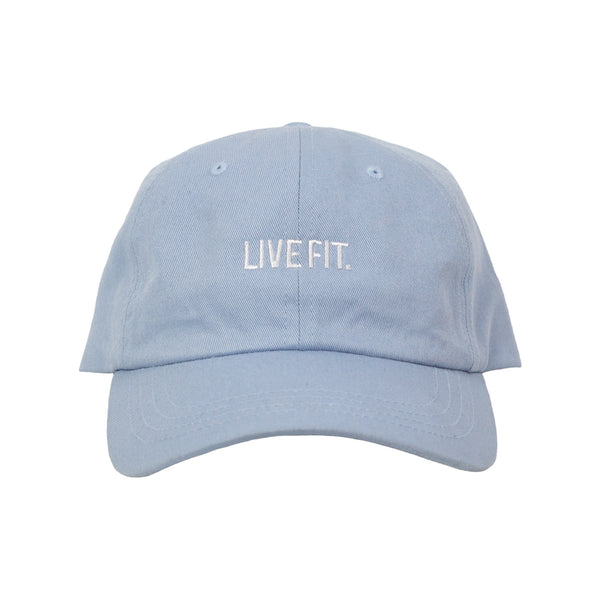 Live Fit. Cap- Baby Blue