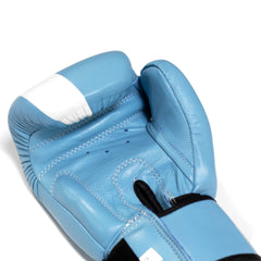 Thai Boxing Gloves- LVFT Stripe - Teal