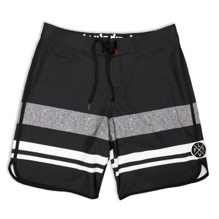 Wedge Boardshorts- Black