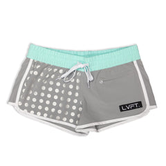 Reflective Women's Boardshorts / Running shorts- Teal