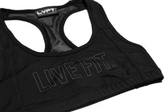 Outline Sports Bra- Black