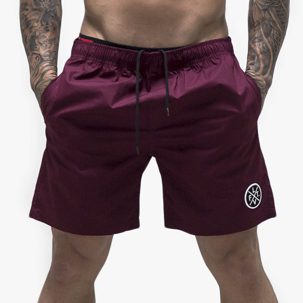 Pacific Shorts- Burgundy