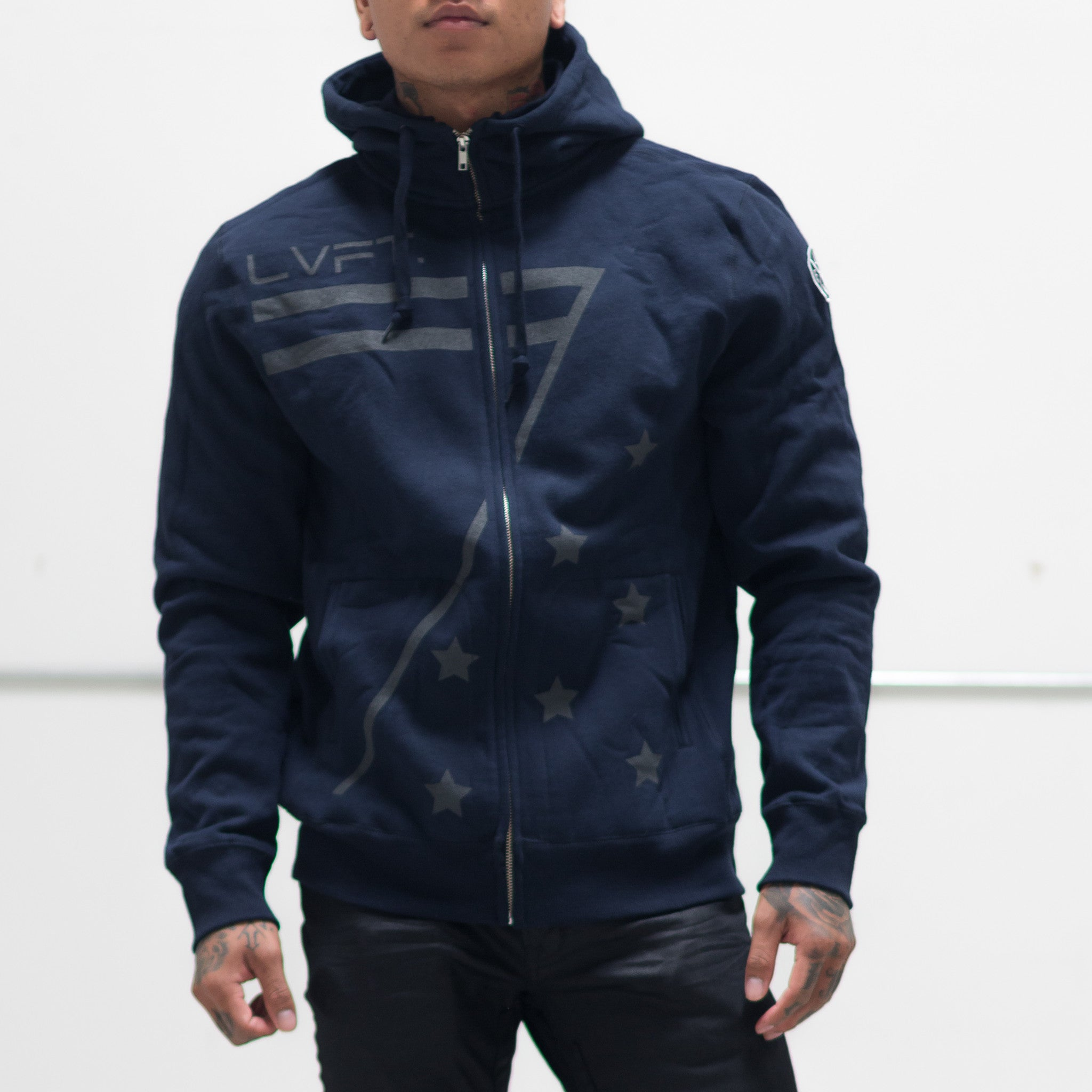 Cadet Zip Up - Navy
