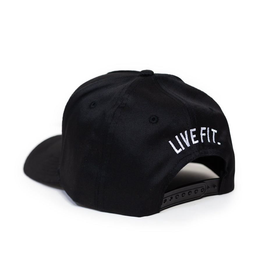 Live Fit Apparel LF Classic Cap - Black / Gold - LVFT