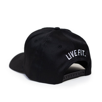 Live Fit Apparel LF Classic Cap - Black / White - LVFT