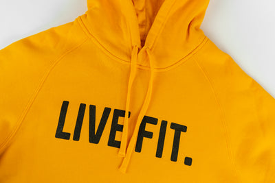 Live Fit Apparel Classic Live Fit Hoodie - Gold - LVFT.