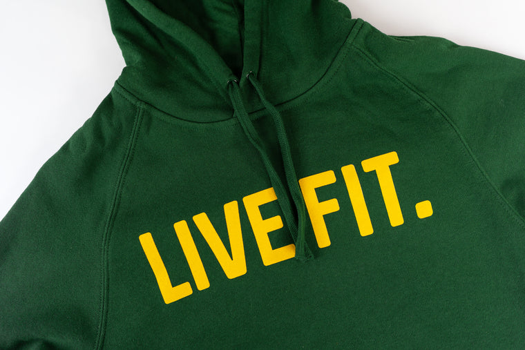 Live Fit Apparel Classic Live Fit Hoodie - Green - LVFT.