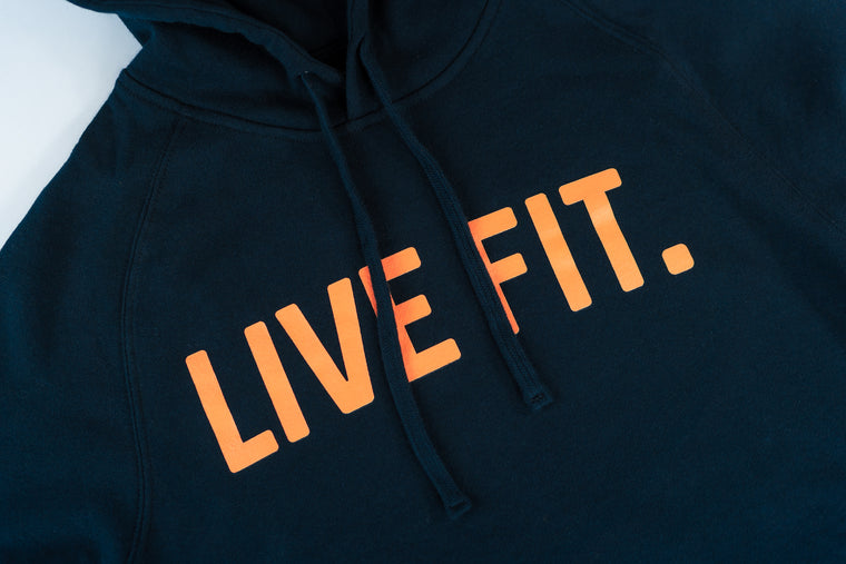 Live Fit Apparel Classic Live Fit Hoodie - Navy - LVFT