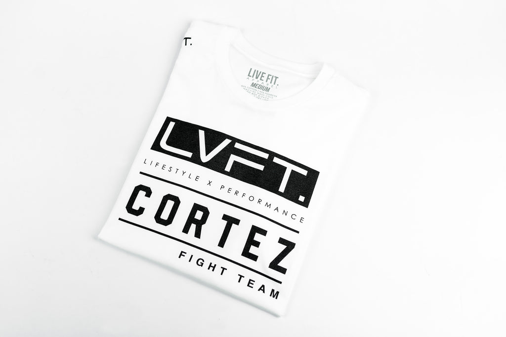 LVFT x Cortez Fight Team Tee - White