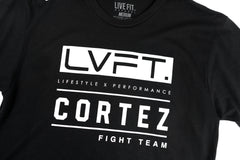 LVFT x Cortez Fight Team Tee - Black