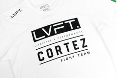 Live Fit Apparel LVFT x Cortez Fight Team Tee - White - LVFT