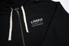 Live Fit Apparel Die Strong Zip Up - Black - LVFT