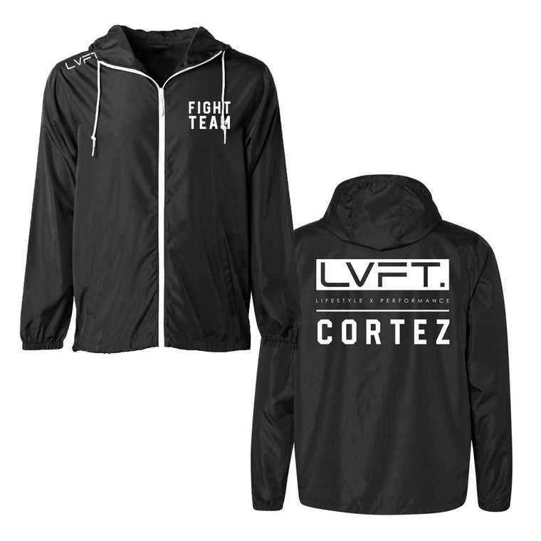 LVFT x Cortez Fight Team Windbreaker - Black
