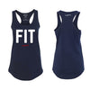 Live Fit Apparel Fit Racerback Tank - Midnight Navy - LVFT