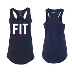 Fit Racerback Tank - Midnight Navy