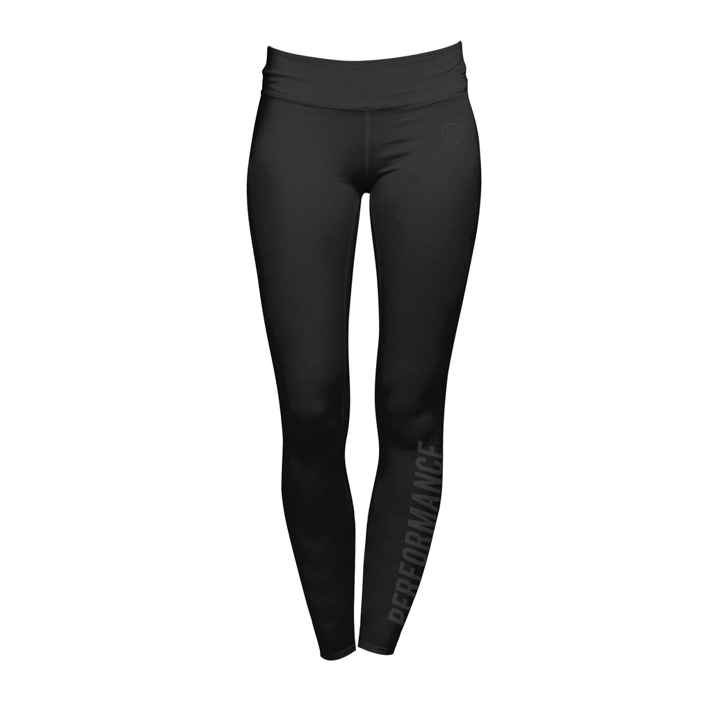 Flash Leggings - Black / Black