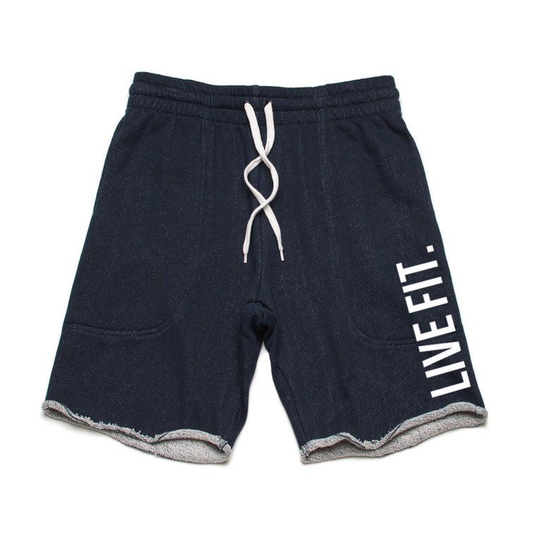 French Terry Live Fit Short - Navy