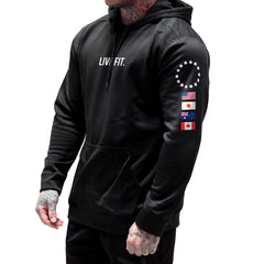 Global Tech Hoodie - Black