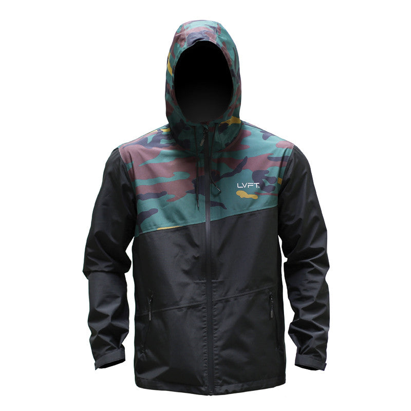 Recon Tech Jacket- Green Camo