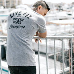 Athletic Goods Tee - Charcoal Heather