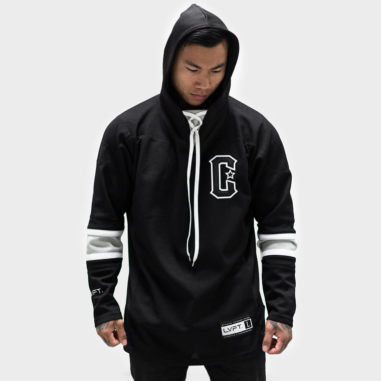 LVFT. Hockey Jersey- Black