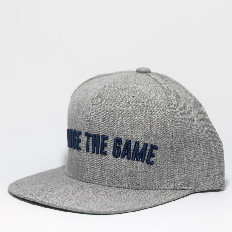 Live Fit Apparel Change The Game Snapback - Grey/ Navy - LVFT