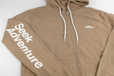 Mountain Zip Up - Sand