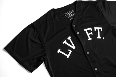 On The Field Jersey - Black/White