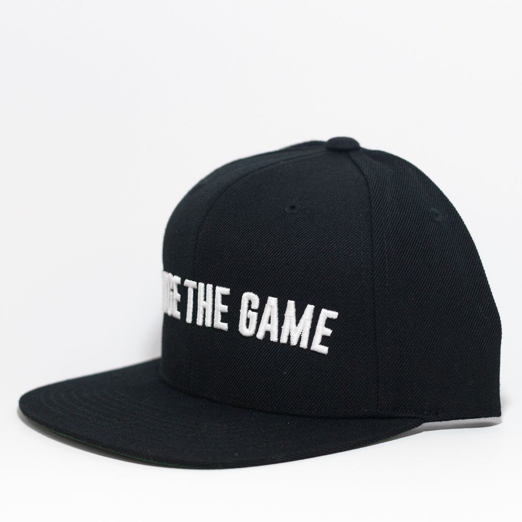 Change The Game Snapback - Black/White