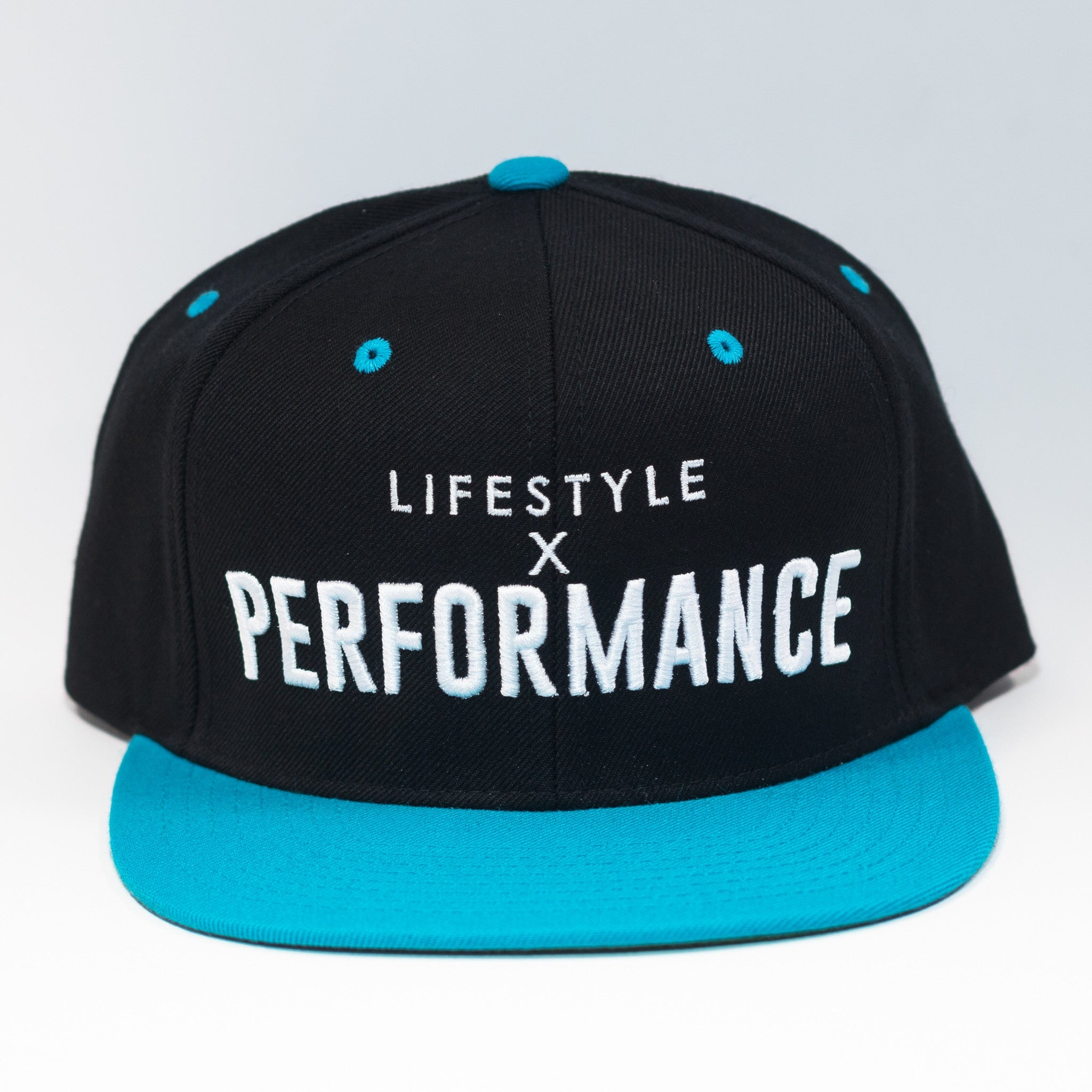 Lifestyle X Performance Snapback - Black/Teal/White