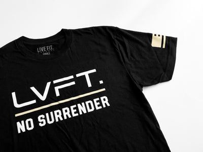 No Surrender Tee - Black