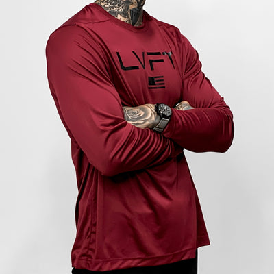 Olympus UV Long Sleeve - Cardinal