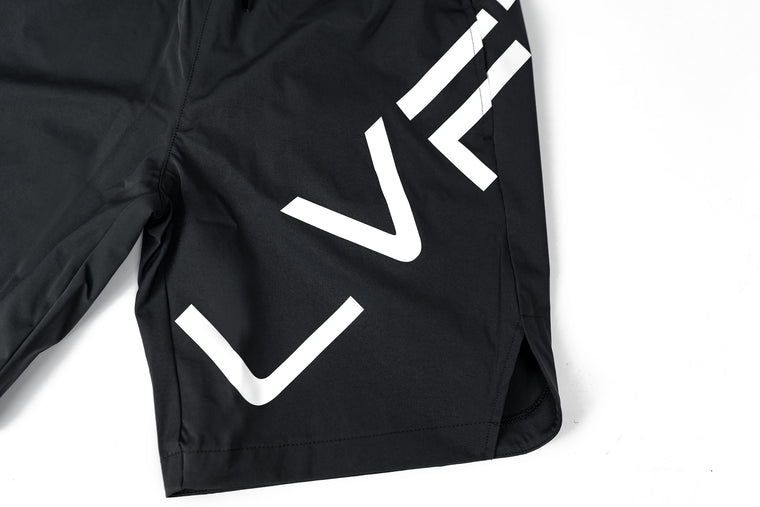 Live Fit Apparel Impact Shorts - Charcoal - LVFT