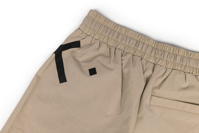 Live Fit Apparel Impact Shorts - Khaki - LVFT