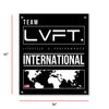 Live Fit Apparel International Banner - Black - LVFT